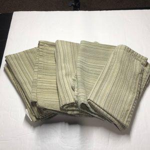 Sonoma set of 5 cotton napkins